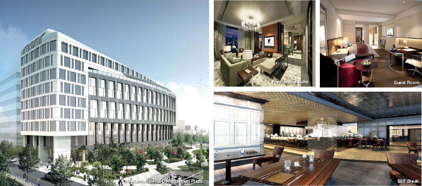 Hotel On Dongdaemun Jw Marriott Hotels Resorts Opens First Leed Gold Certified Hotel