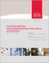 The Digital Direction: Hotel Marketing Budgets and a Digital 101 for Hotels Part 1 of a Two-Part Series