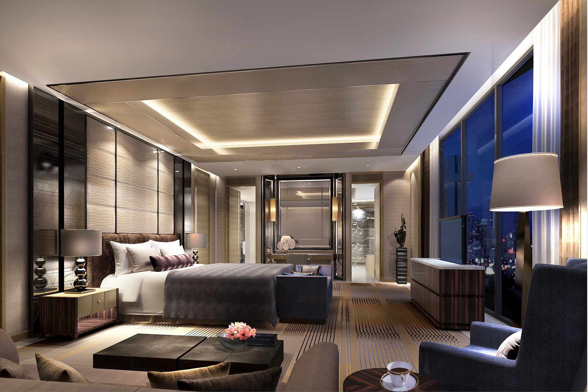 New langham place hotel opens in xiamen china for Modern luxury hotels uk