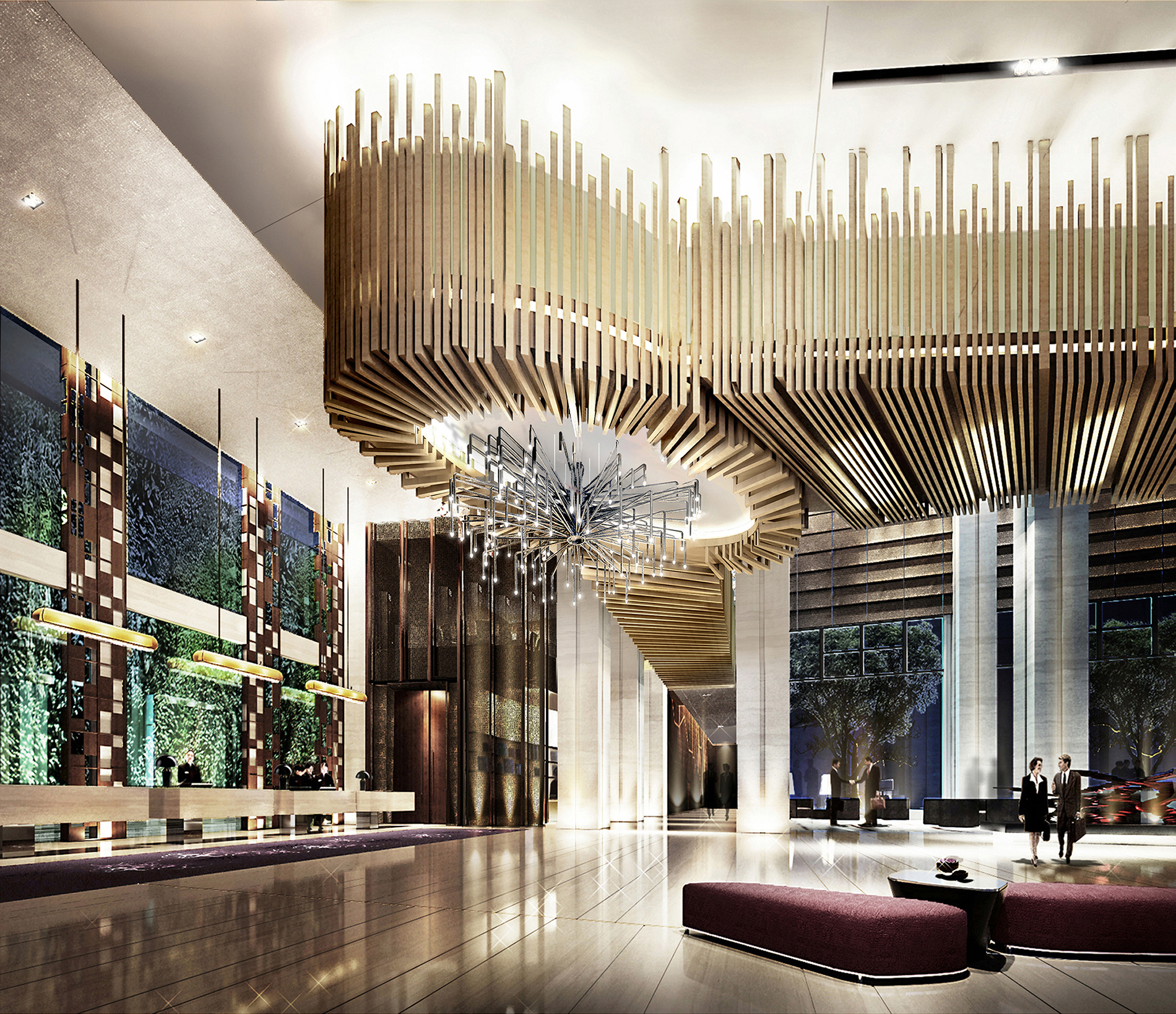 New langham place hotel opens in xiamen china for New hotel design