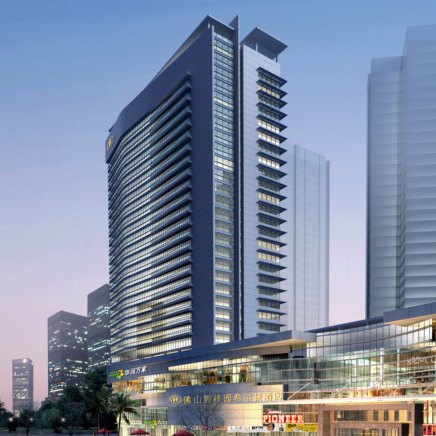 Hilton hotels resorts announces new hotel in foshan for Modern hotel