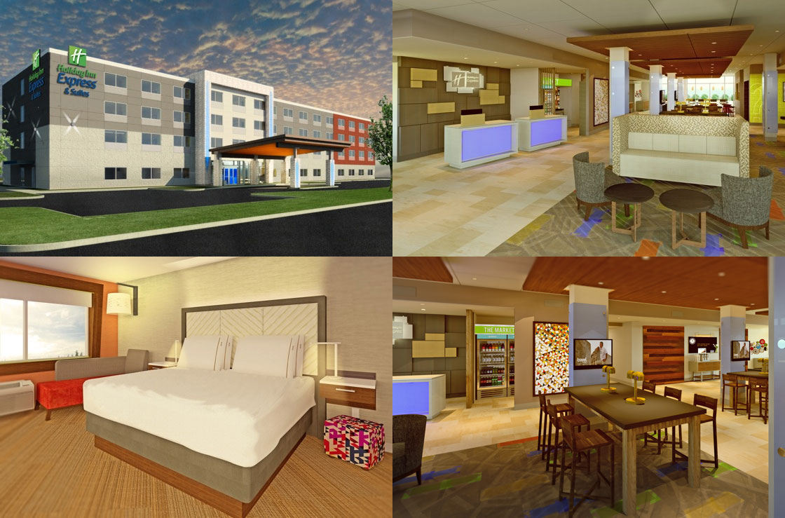 Ihg introduces new holiday inn express prototype design for New hotel design