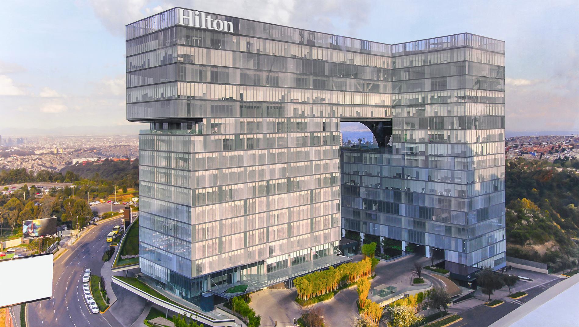 Hilton Hotel Santa Fe Mexico City