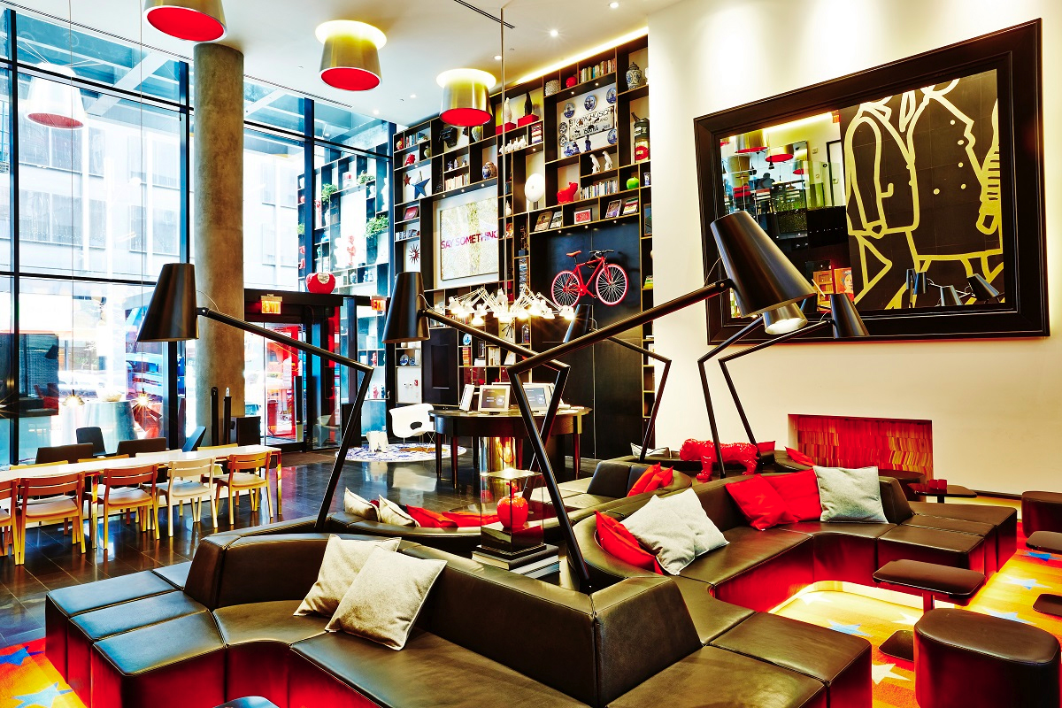 New citizenm hotels in paris and new york for M design hotel