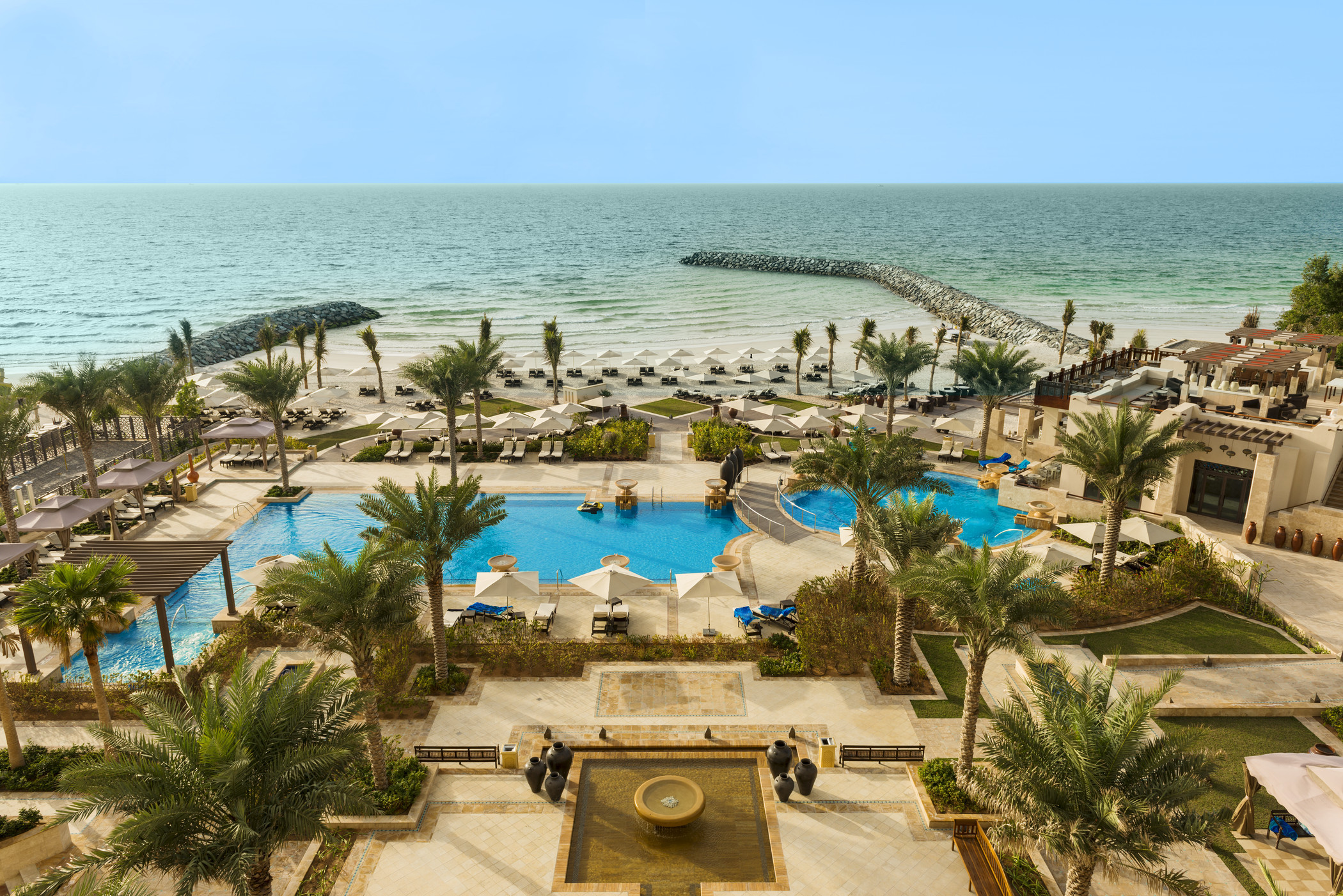 View From Ajman Saray A Luxury Collection Resort