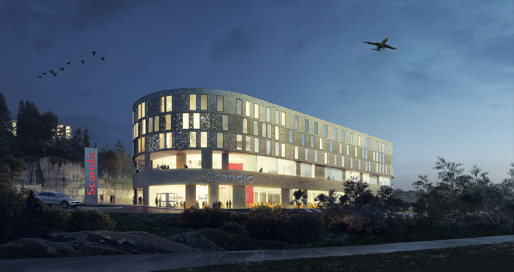 Scandic Flesland Airport Interior