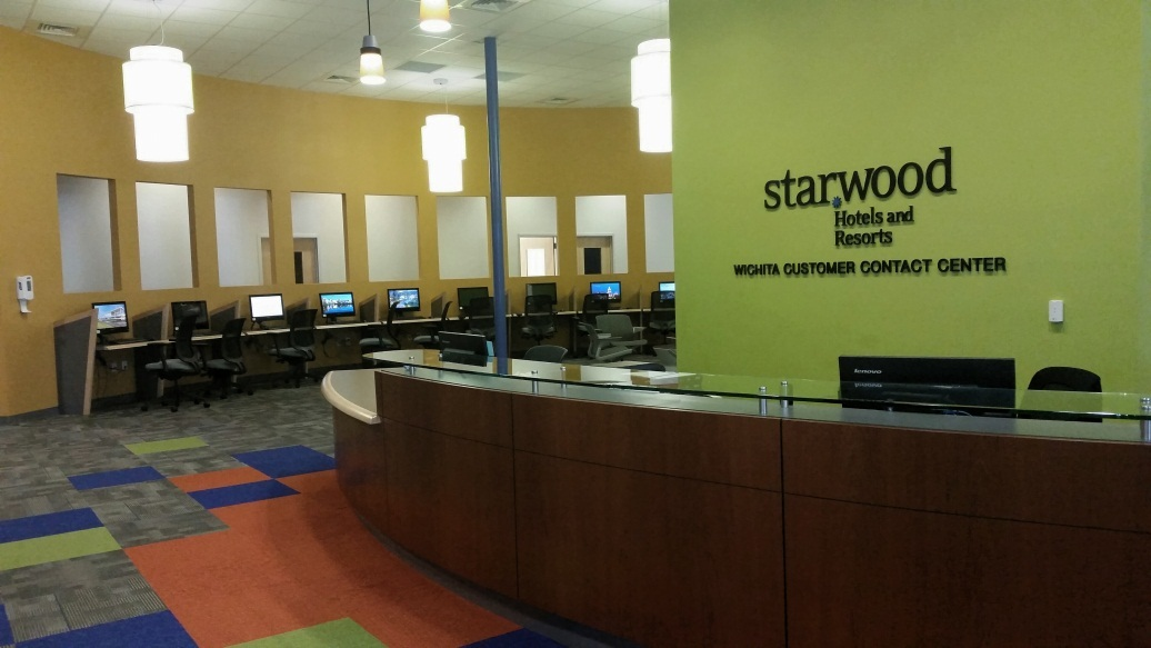 Starwood Hotels Resorts Unveils New Office Location For The Wichita Customer Contact Center