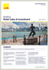 Savills Asia Pacific hotel sales & investment - July 2014