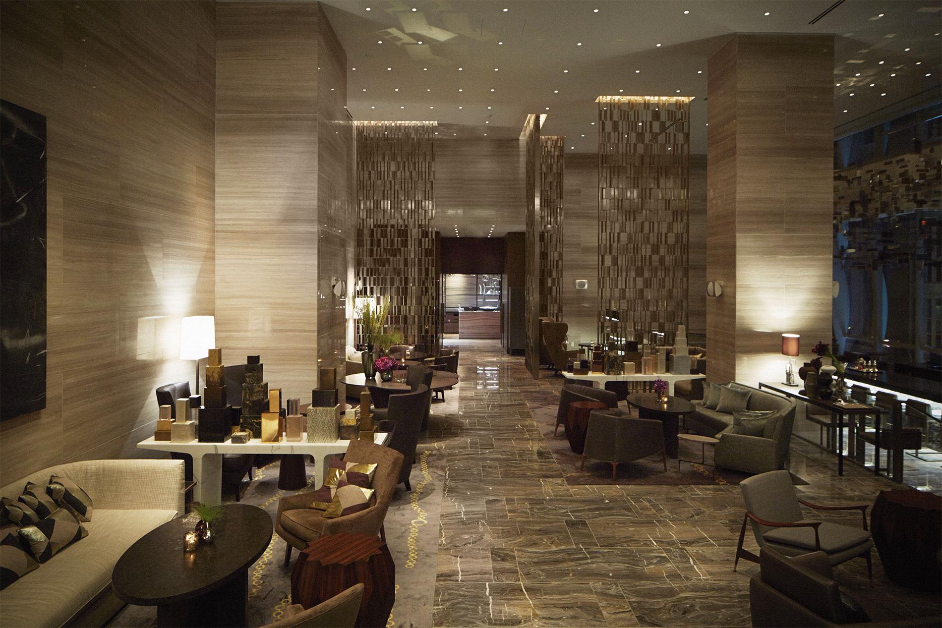 Park hyatt new york debuts for Hotel new york