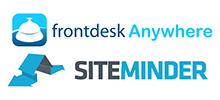 Frontdesk Anywhere Integrates with SiteMinder