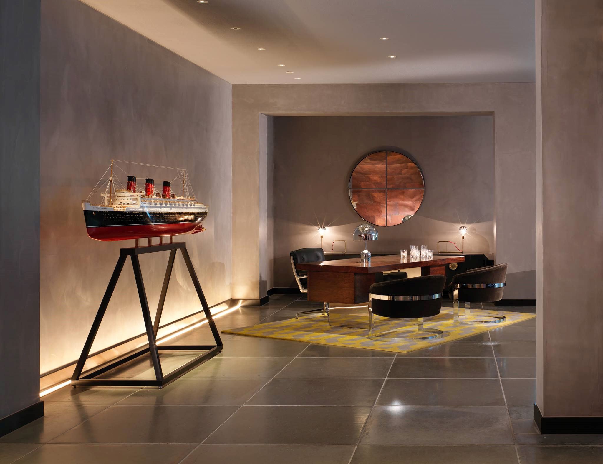 Morgans hotel group opens the 359 room mondrian london at for Design hotel group