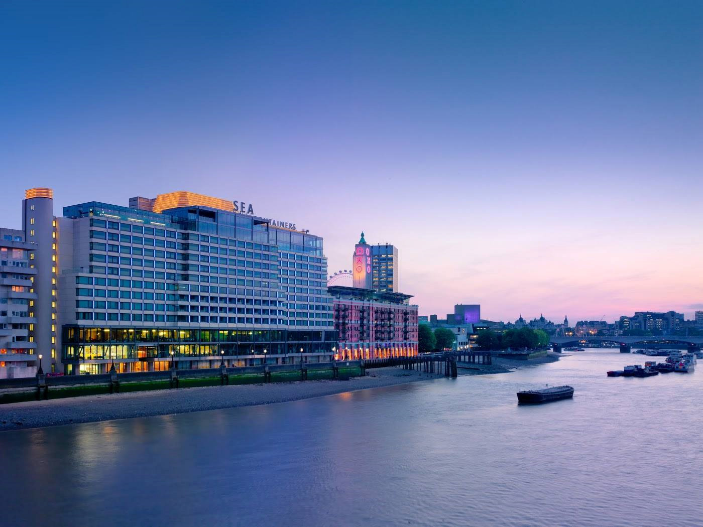 Morgans Hotel Group Opens The 359 Room Mondrian London At Sea Containers