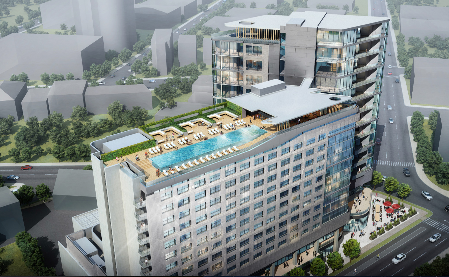 Virgin hotels nashville to open fall 2016 for Hotel building design