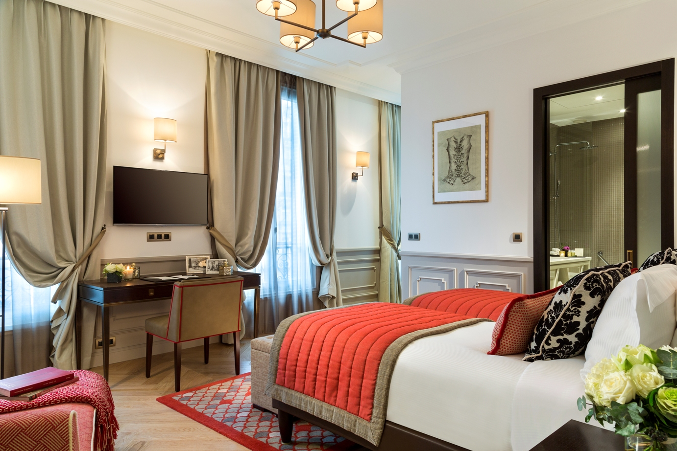 Ascott debuts luxurious citadines suites arc de triomphe for Ideal hotel paris