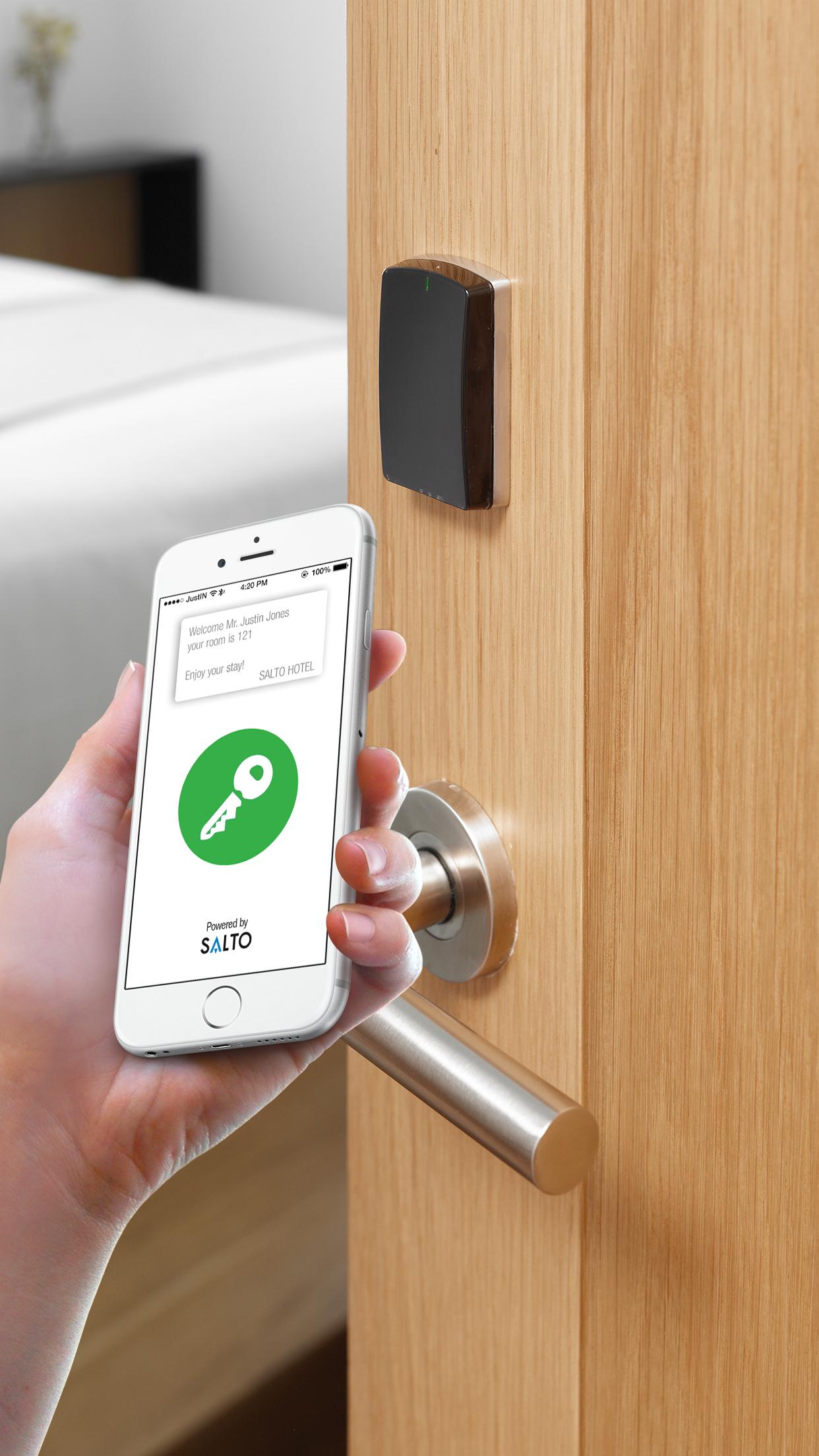 Salto Unveils Justin A Mobile App That Allows Your