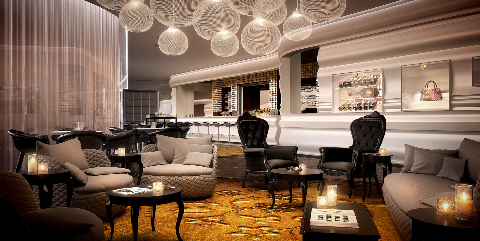 Kameha grand zurich switzerland joins marriott 39 s for Interior decoration zurich