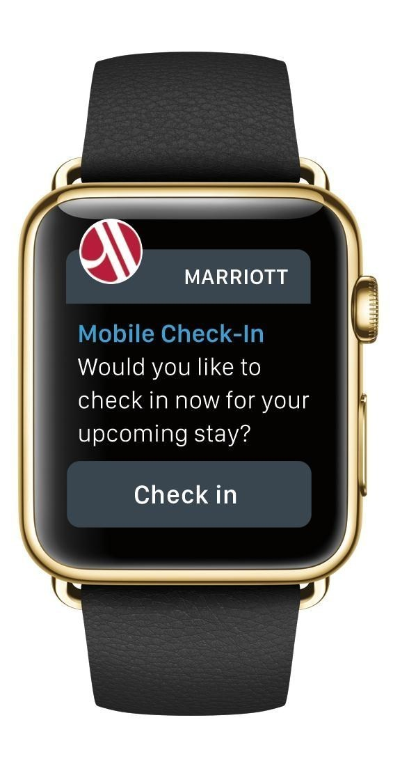 Apple Watch Lets You Check-In to Your Hotel