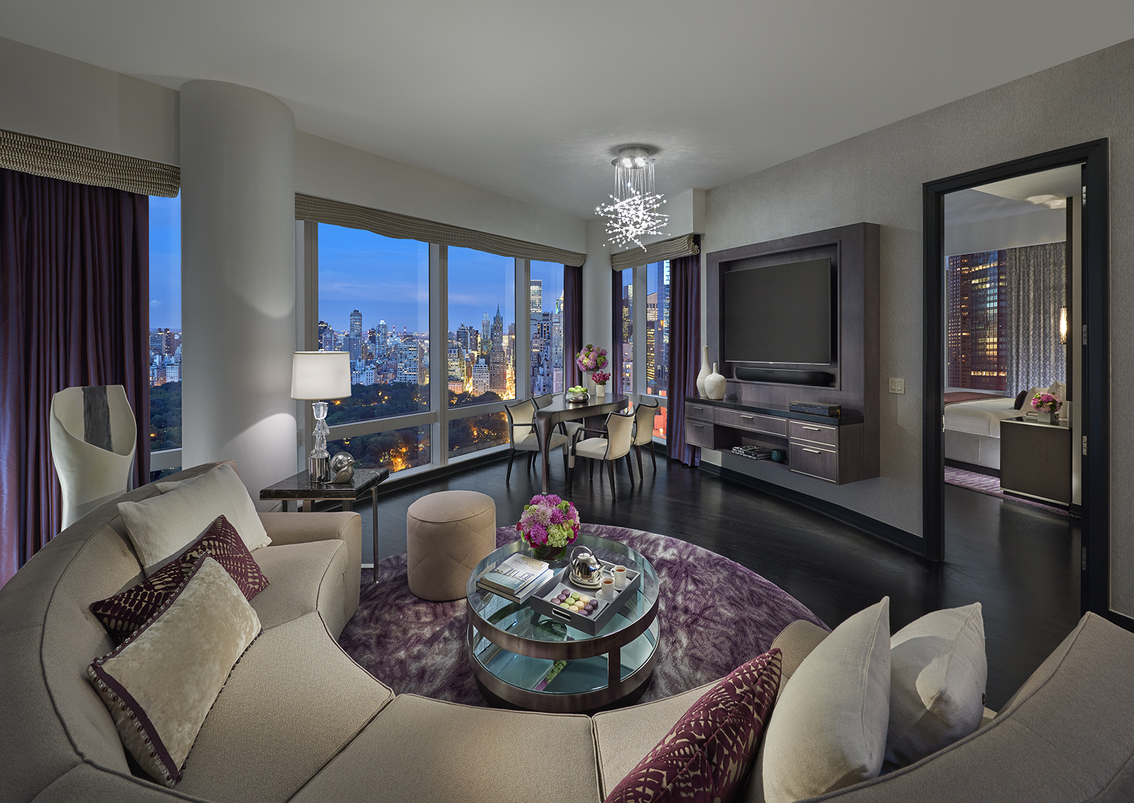 mandarin oriental new york launches 42 restyled one and