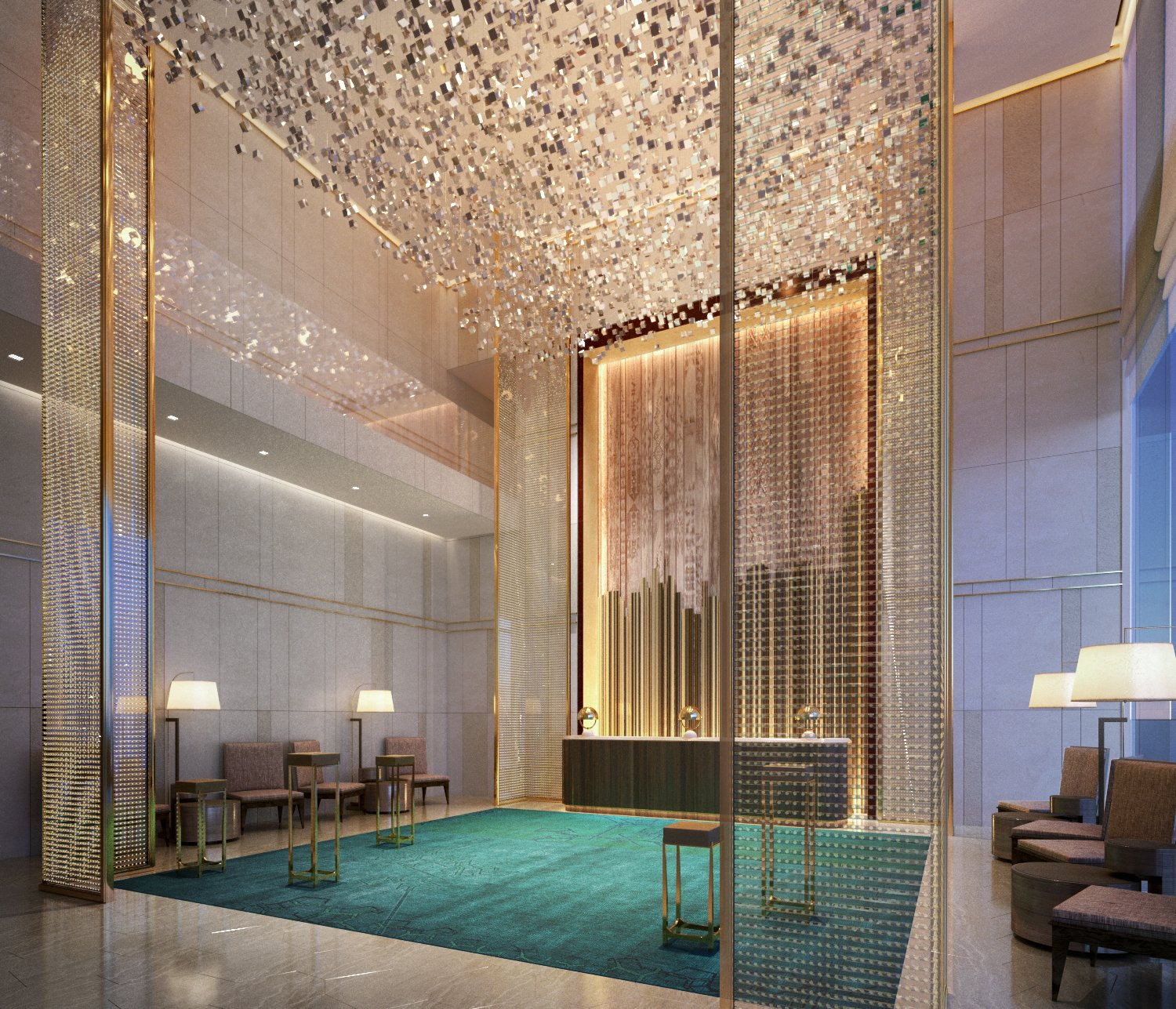 Langham hospitality group introduces new luxury hotel in dubai for Hotel de dubai