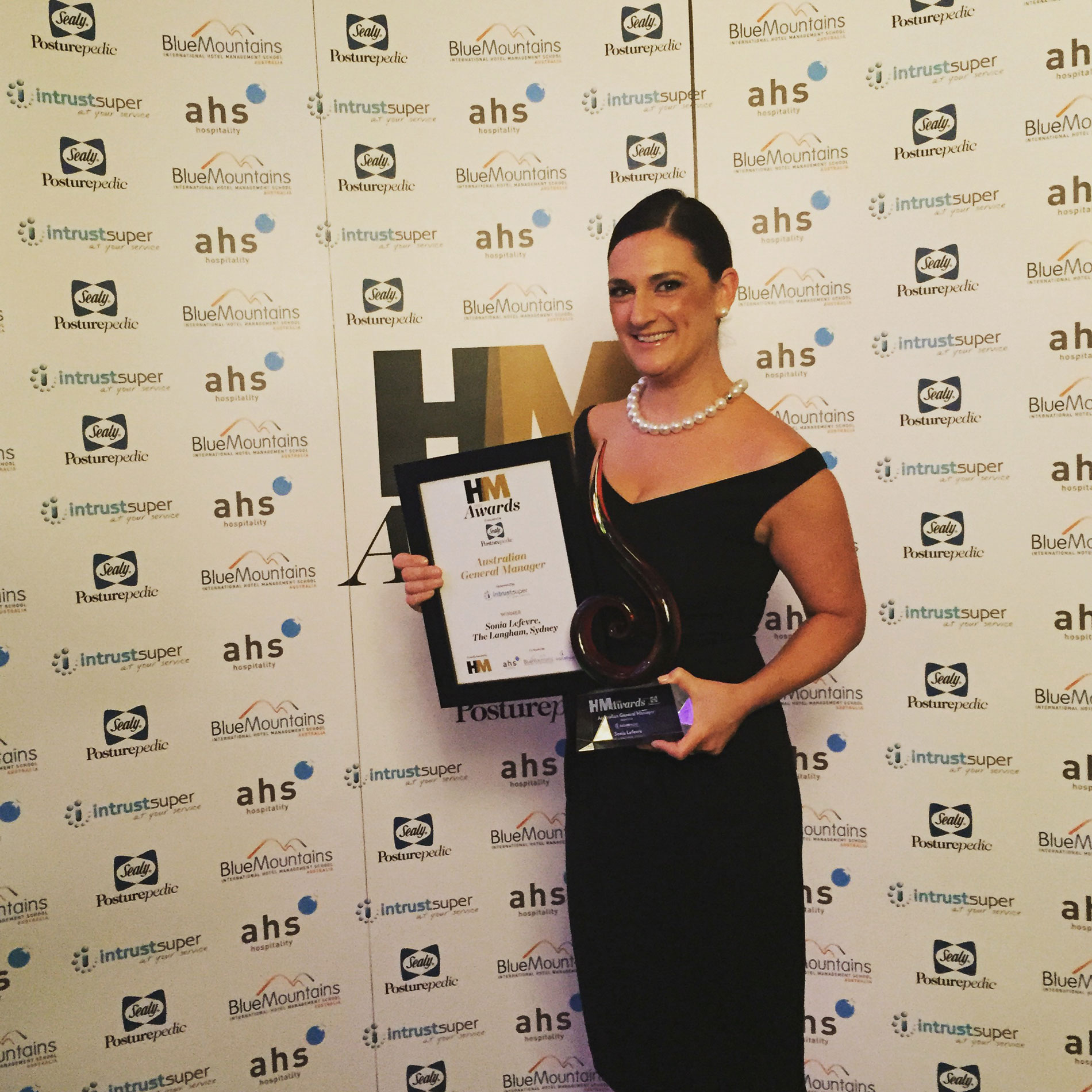Sonia lefevre of the langham sydney named 2015 australian general sonia lefevre of the langham sydney named 2015 australian general manager of the year kristyandbryce Image collections
