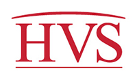 Logo 'HVS International'