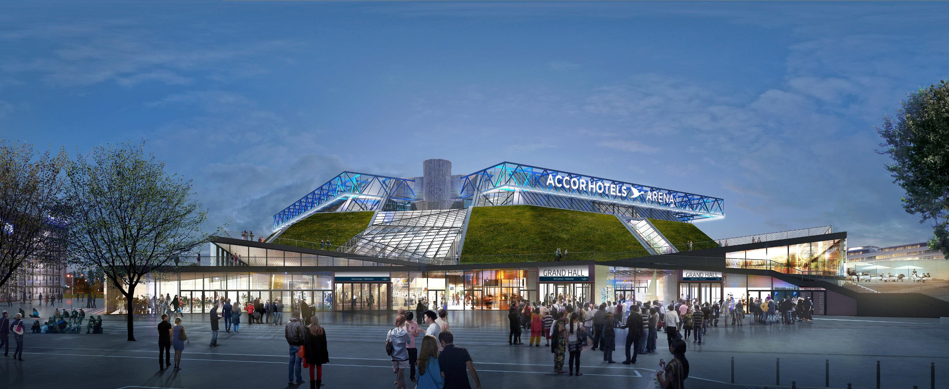 Accorhotels Signs 10 Year Naming Rights Agreement For The Bercy Arena Paris