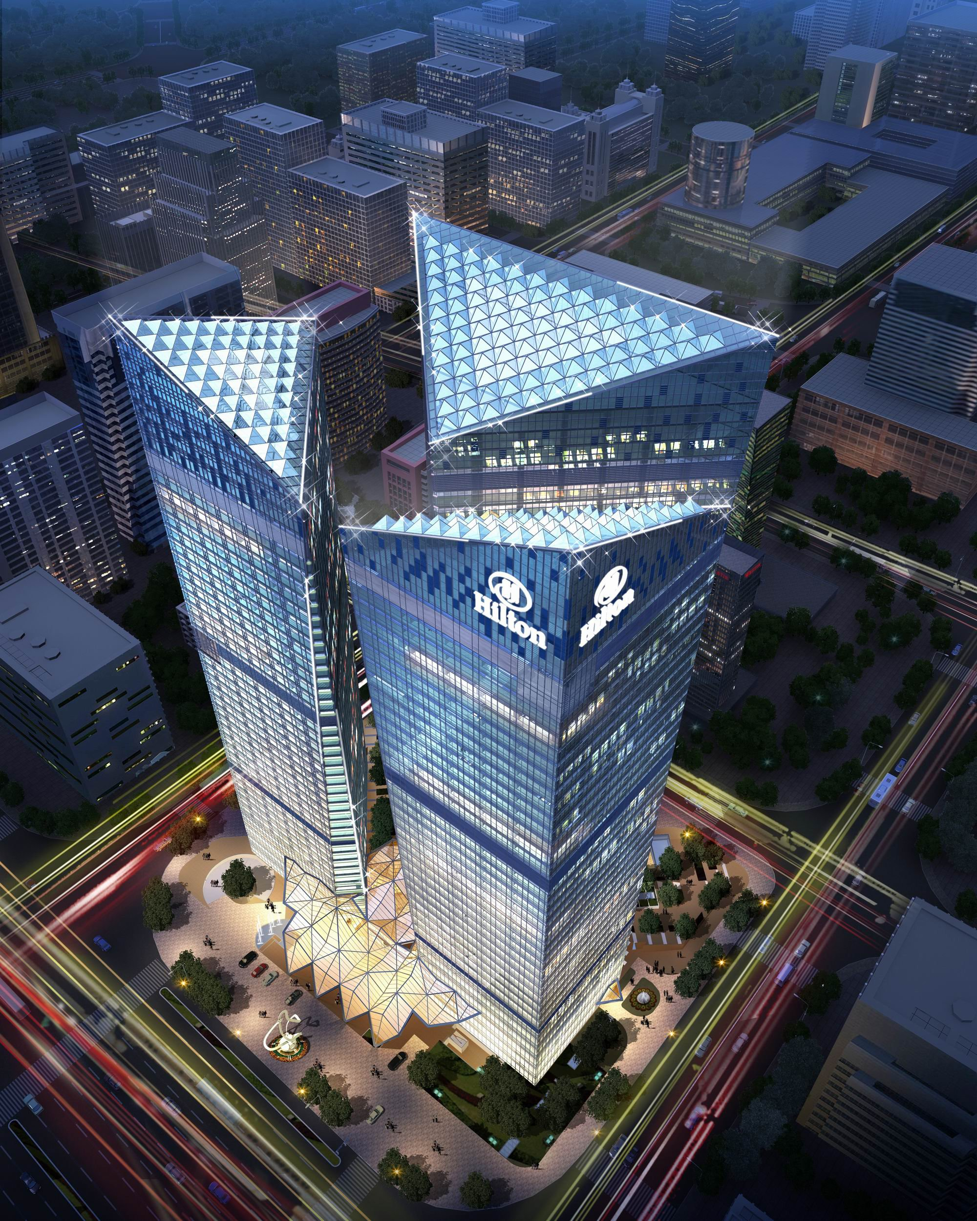 Hilton Hotels Company: Hilton Worldwide Opens First Of 11 Pipeline Hotels In