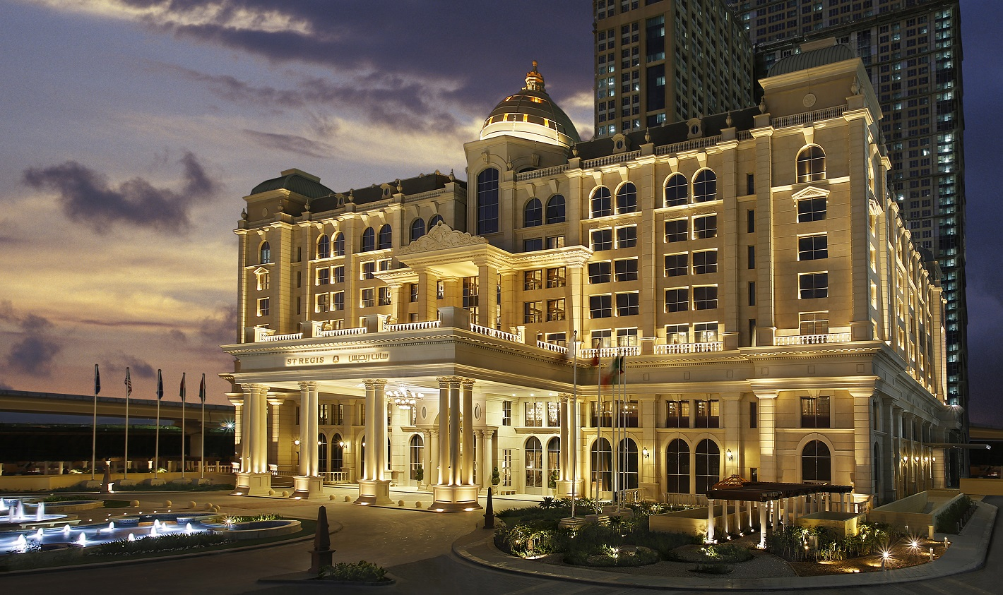 St Regis Hotels Amp Resorts Debuts In Dubai With New World