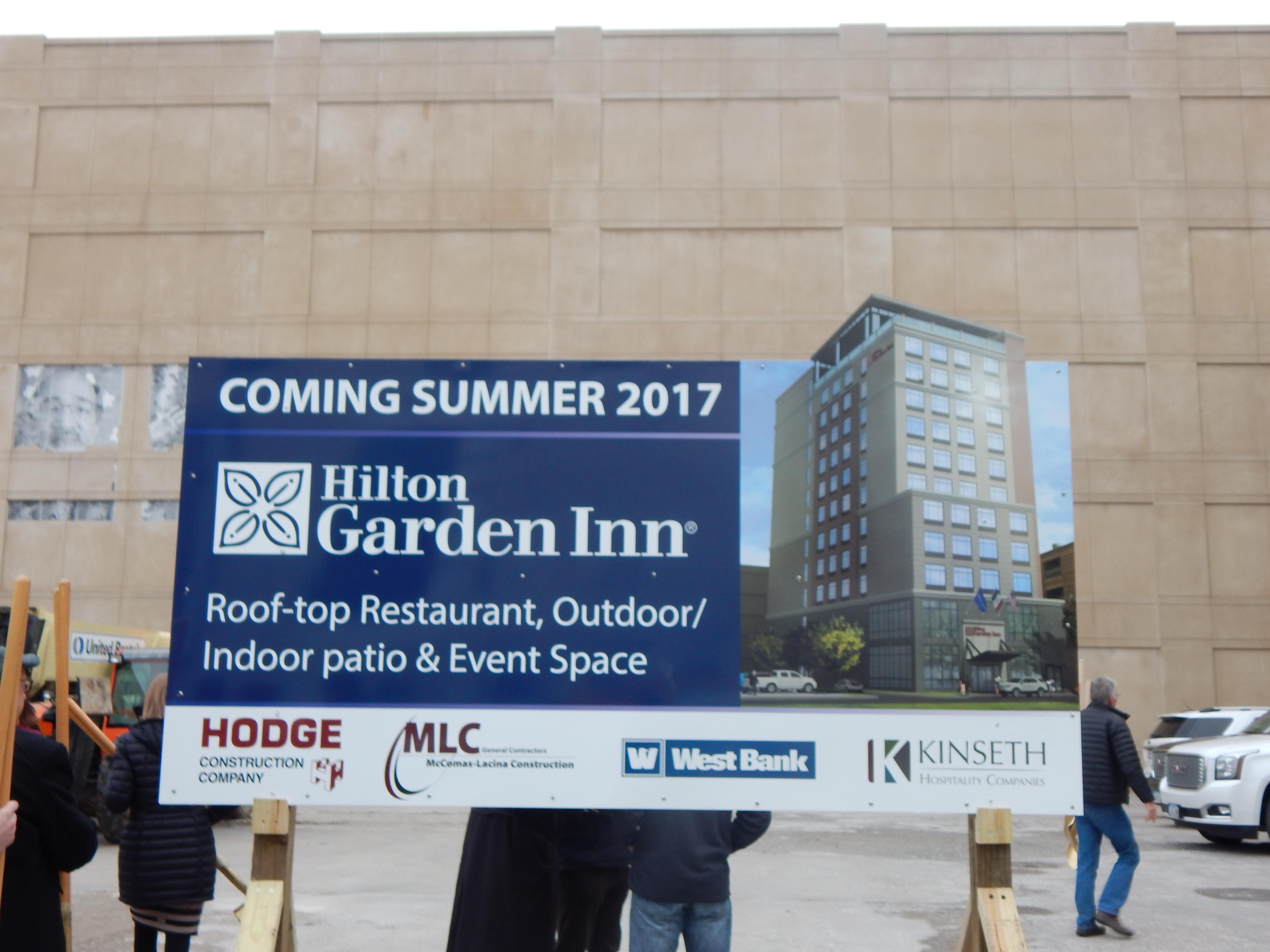 Iowa City Hotel Ociates And Kinseth Hospitality Break Ground On