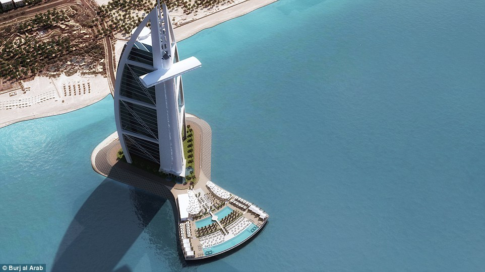 A Masterpiece Of Innovation Another First For The World 39 S Most Luxurious Hotel Burj Al Arab