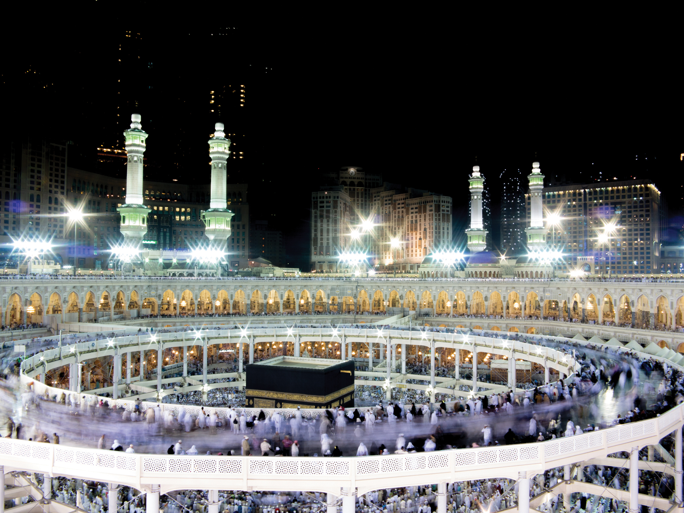 Kaaba At Night 2013 | www.pixshark.com - Images Galleries ...