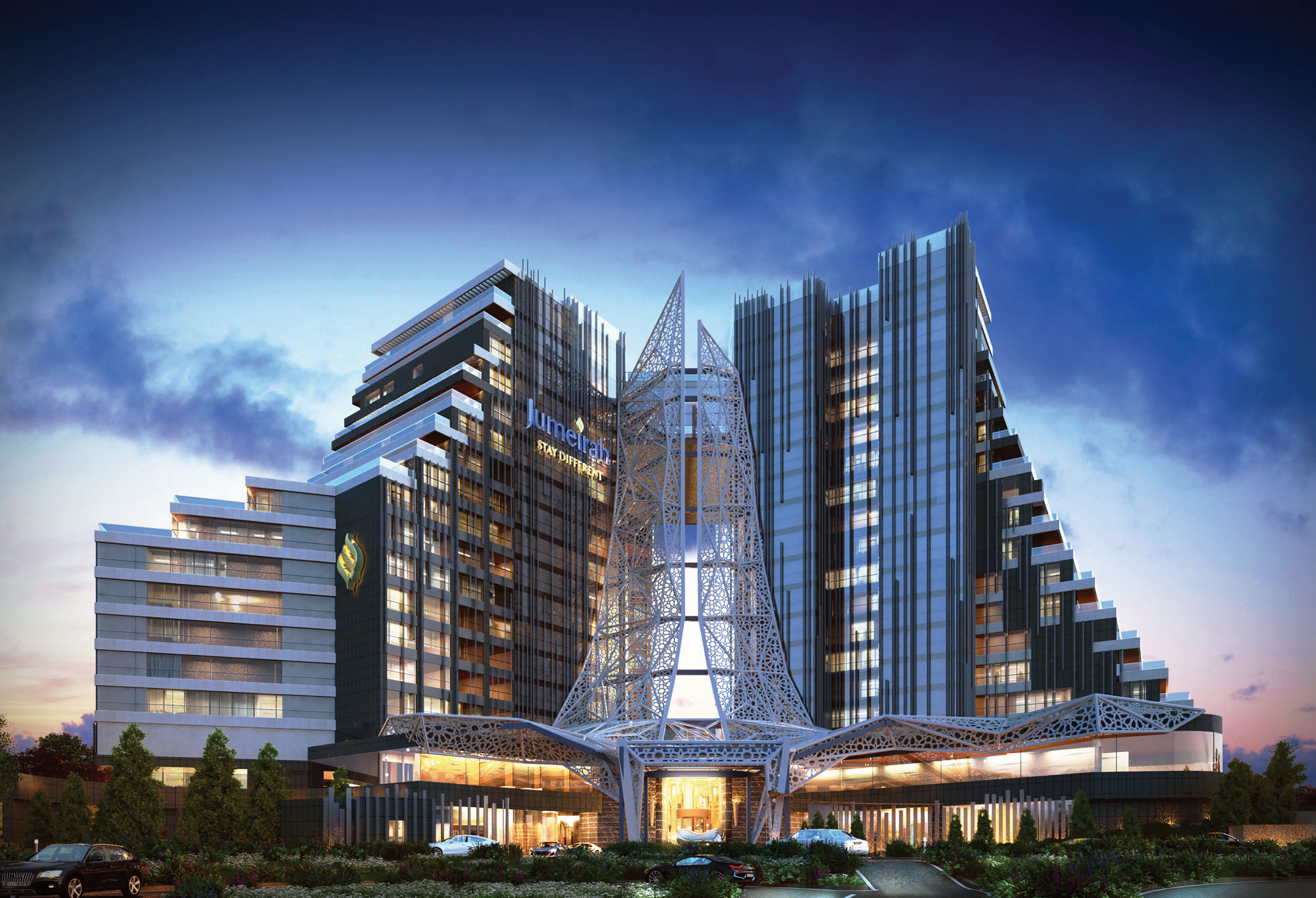 Kuzu group appoints jumeirah group to operate luxury hotel for Designer hotel