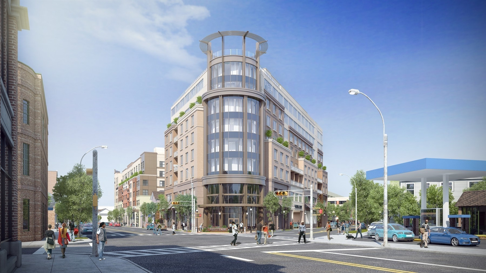 The mc luxury boutique hotel breaks ground in montclair nj for Luxury boutique accommodation