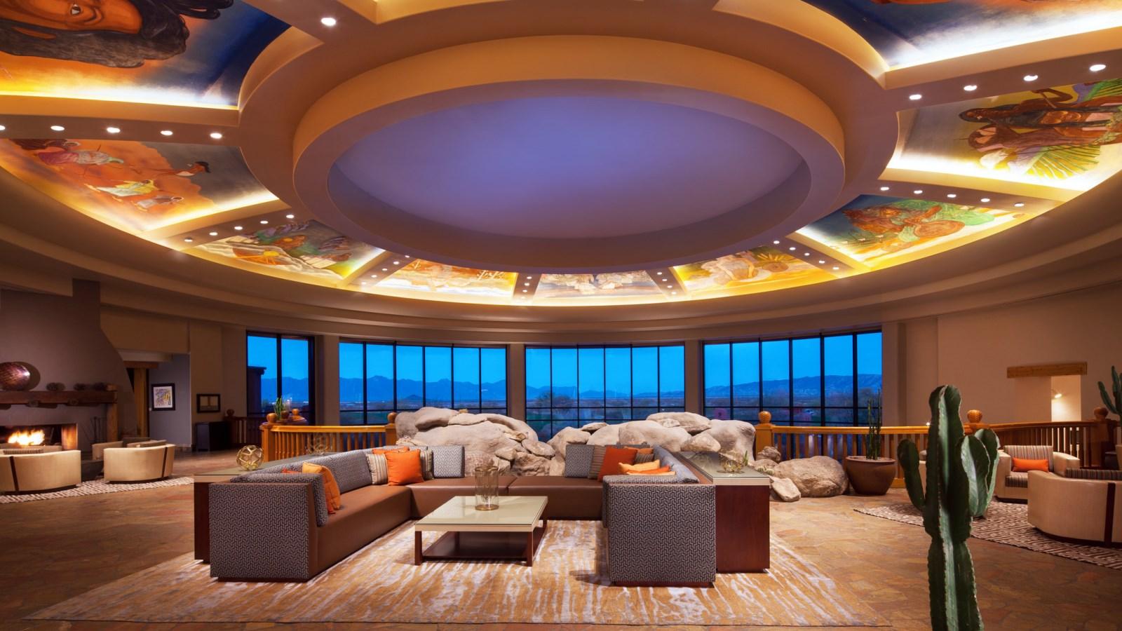 Sheraton hotels resorts recognizes sheraton wild horse pass resort spa as the first sheraton grand resort in north america