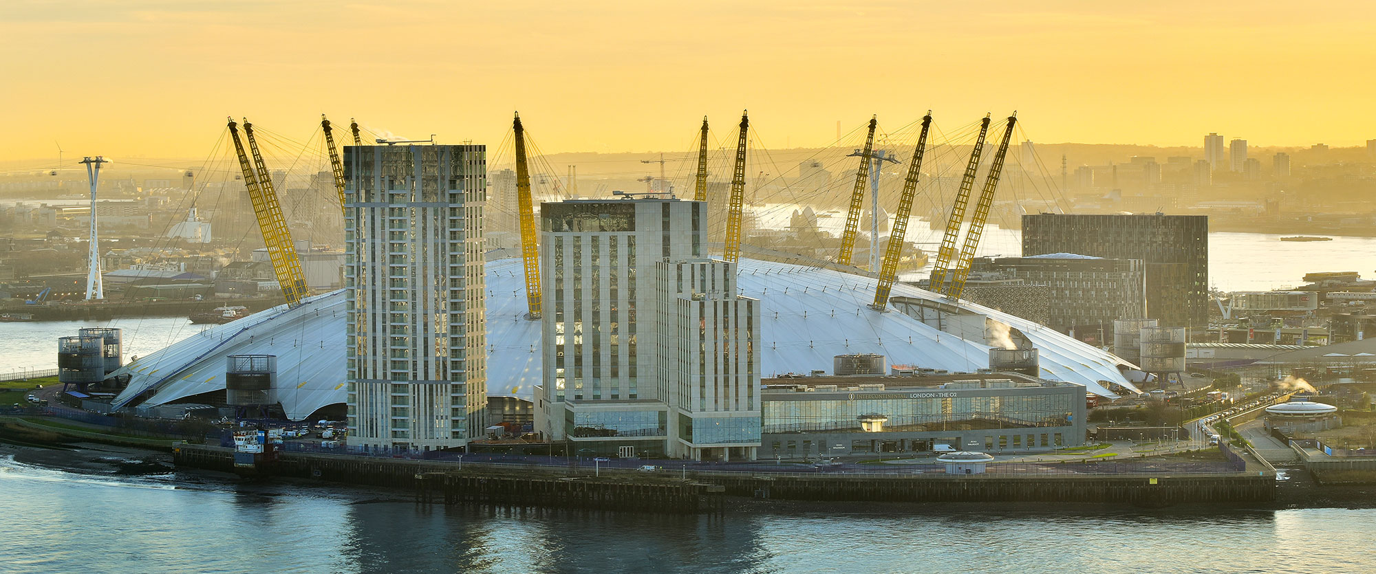 Acentic S Largest Uk Install Of Radiant 4 Panorama Ng At Flagship Intercontinental London The O2