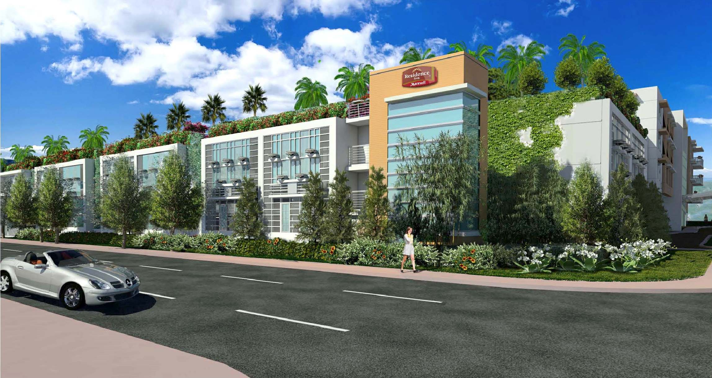 Hotel Development Partners Opens Custom Designed Residence Inn In Miami Beach Surfside Florida