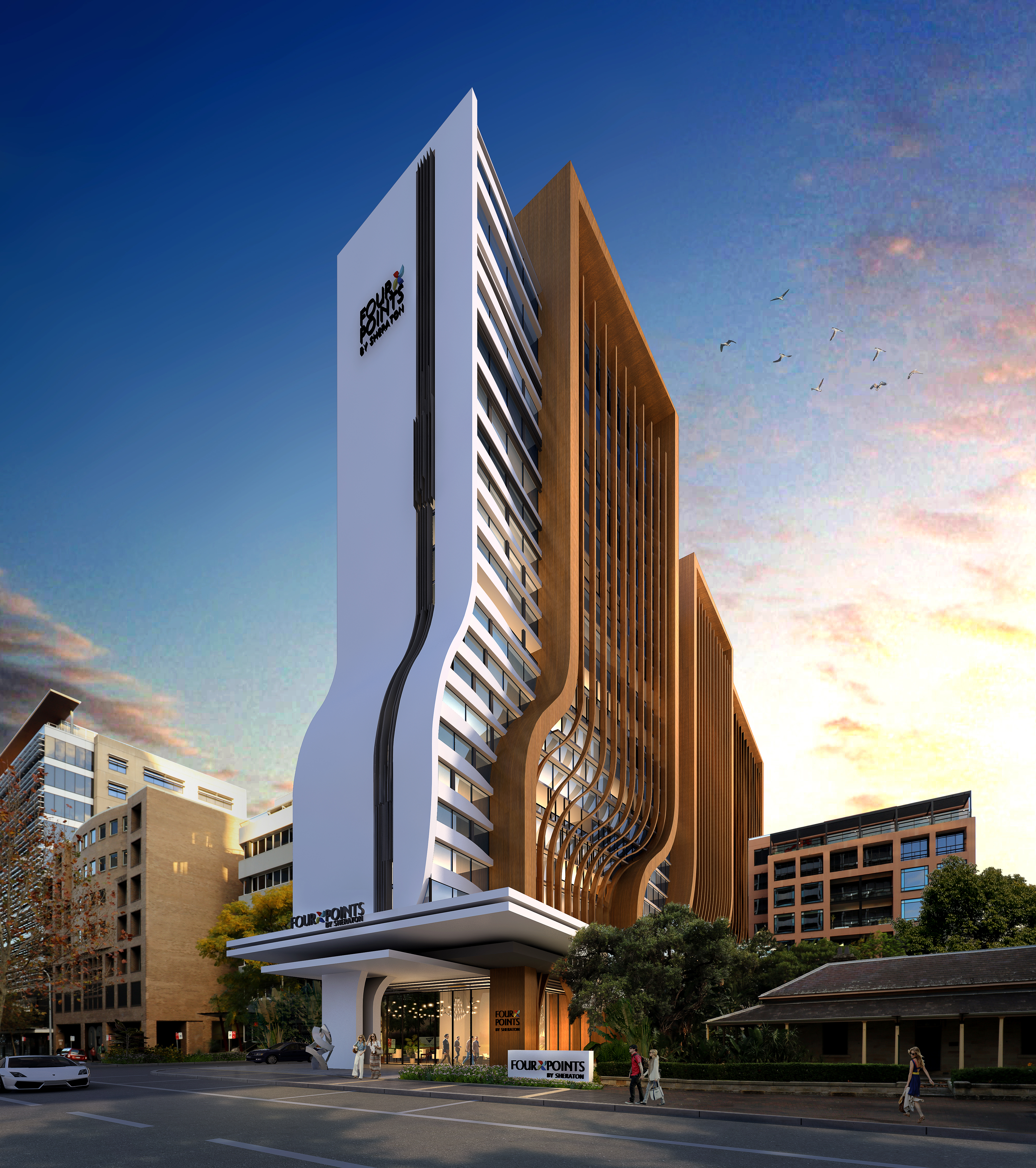 Starwood Hotels Resorts Expands Presence In Australia With The Signing Of Four Points By Sheraton Parramatta