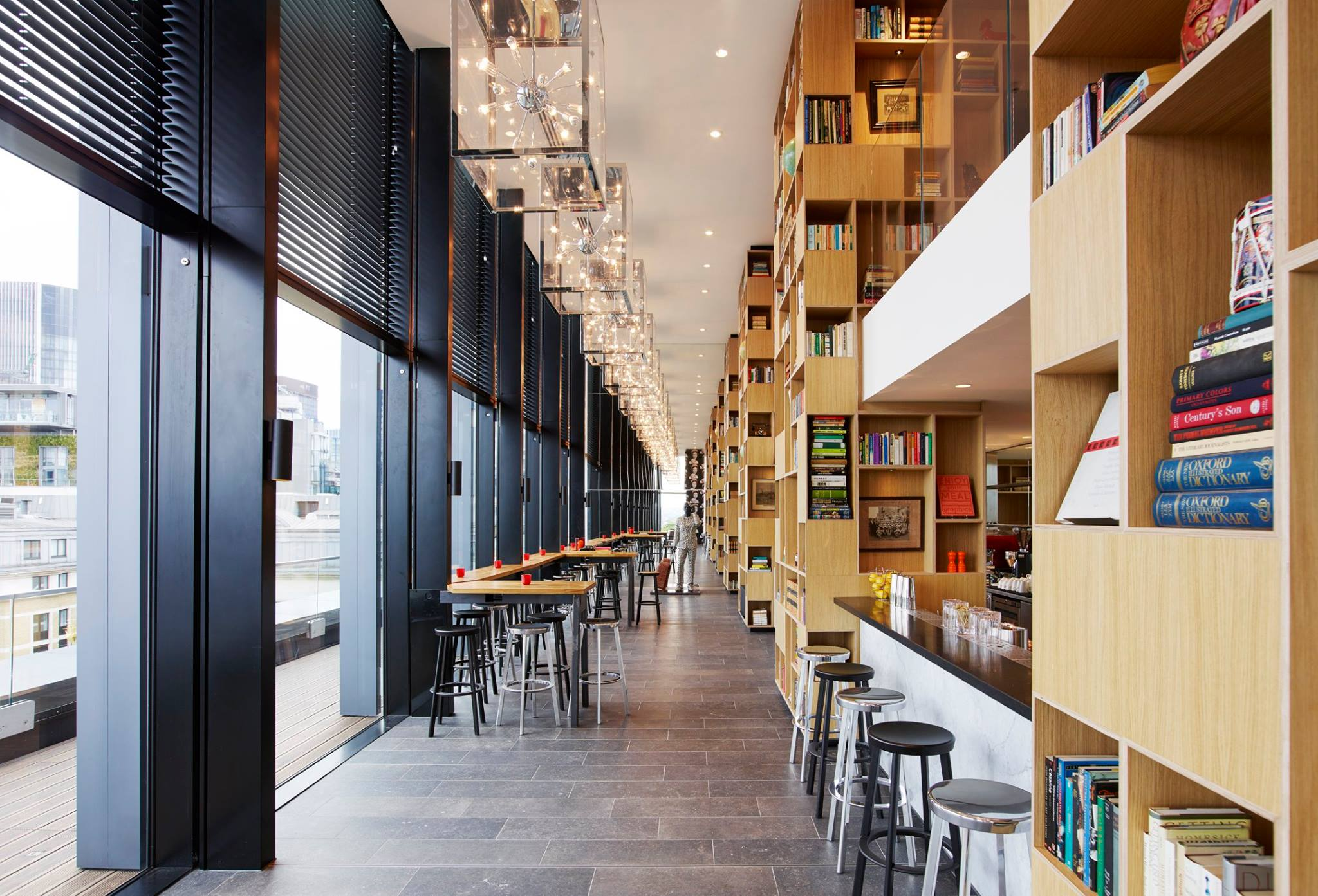 Grand opening of citizenm s new flagship hotel in london for Citizenm hotel london