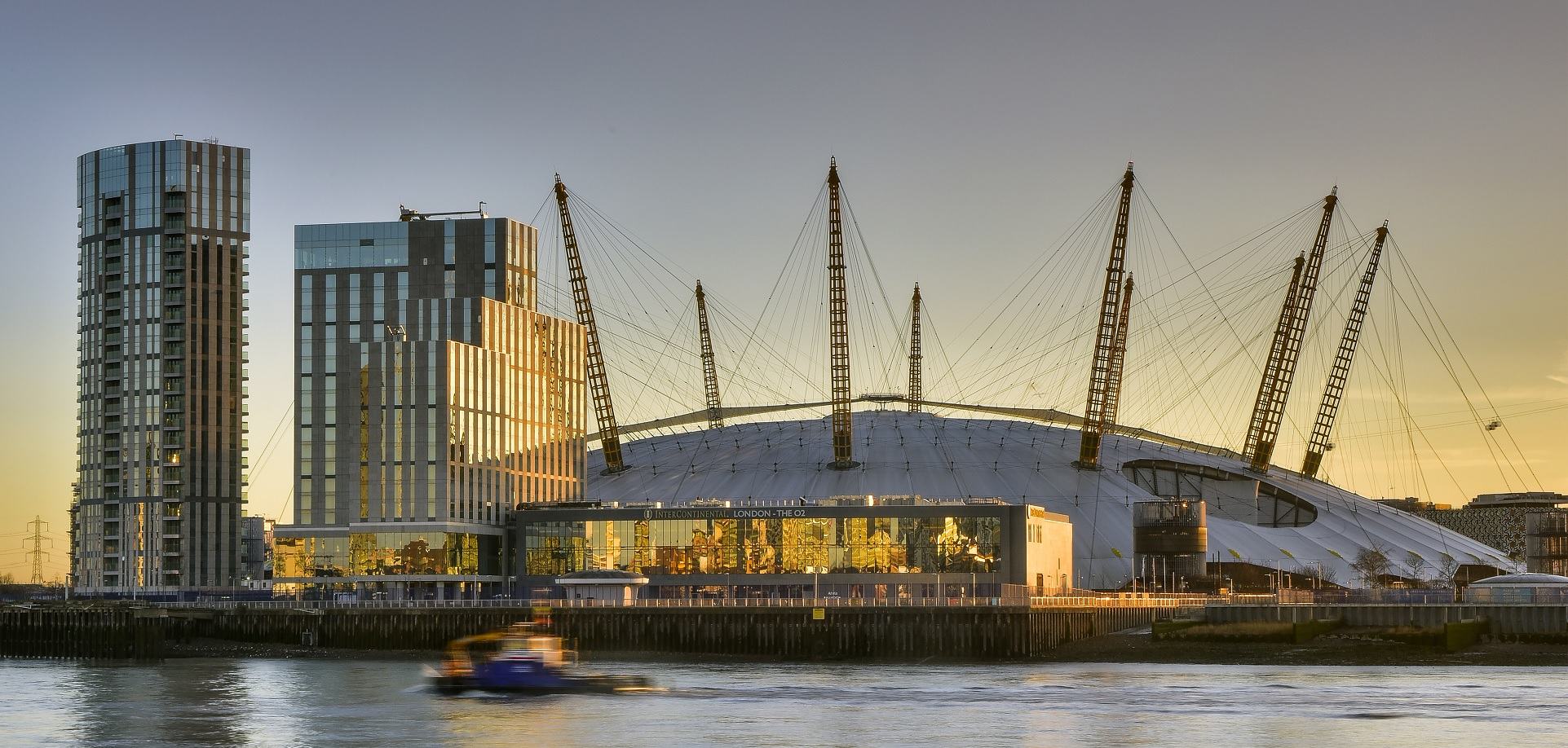 Opening Of 101 Riverside Apartments In Landmark Residential Tower Adjacent To Luxury London Hotel And O2 Arena