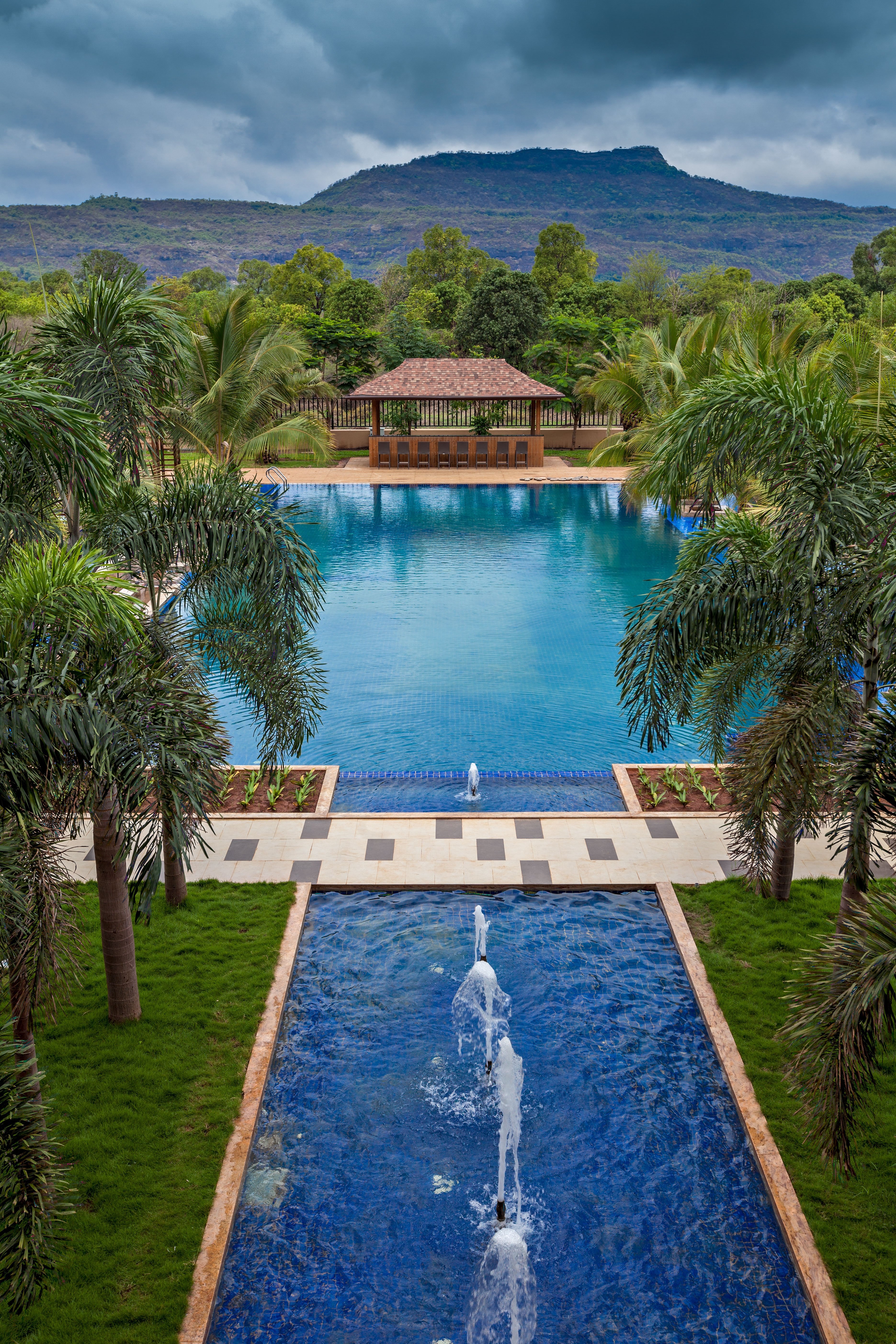Radisson blu opens its first resort and spa in karjat india - Cost of building a swimming pool in india ...