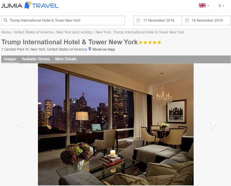 Speculations In The Hospitality Industry After Trumps Win By - Trump towers in the us map