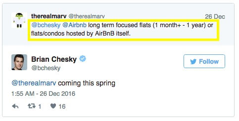 Airbnb's CEO Took to Twitter to Ask His Users for Product Feedback: | By Alex Shashou
