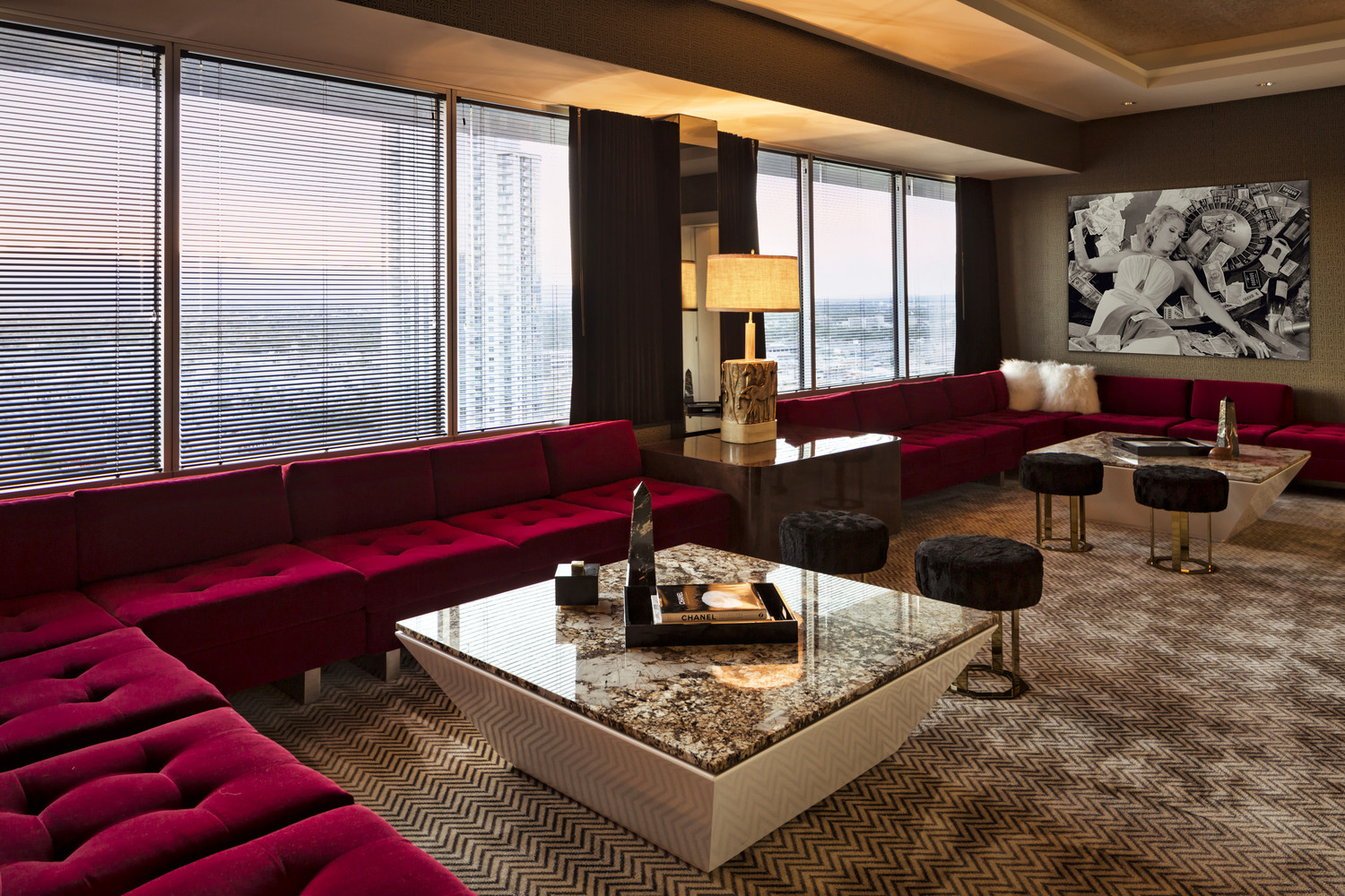 Extreme WOW Suite Designed By Multi Talented Artist Lenny Kravitz At W Las Vegas
