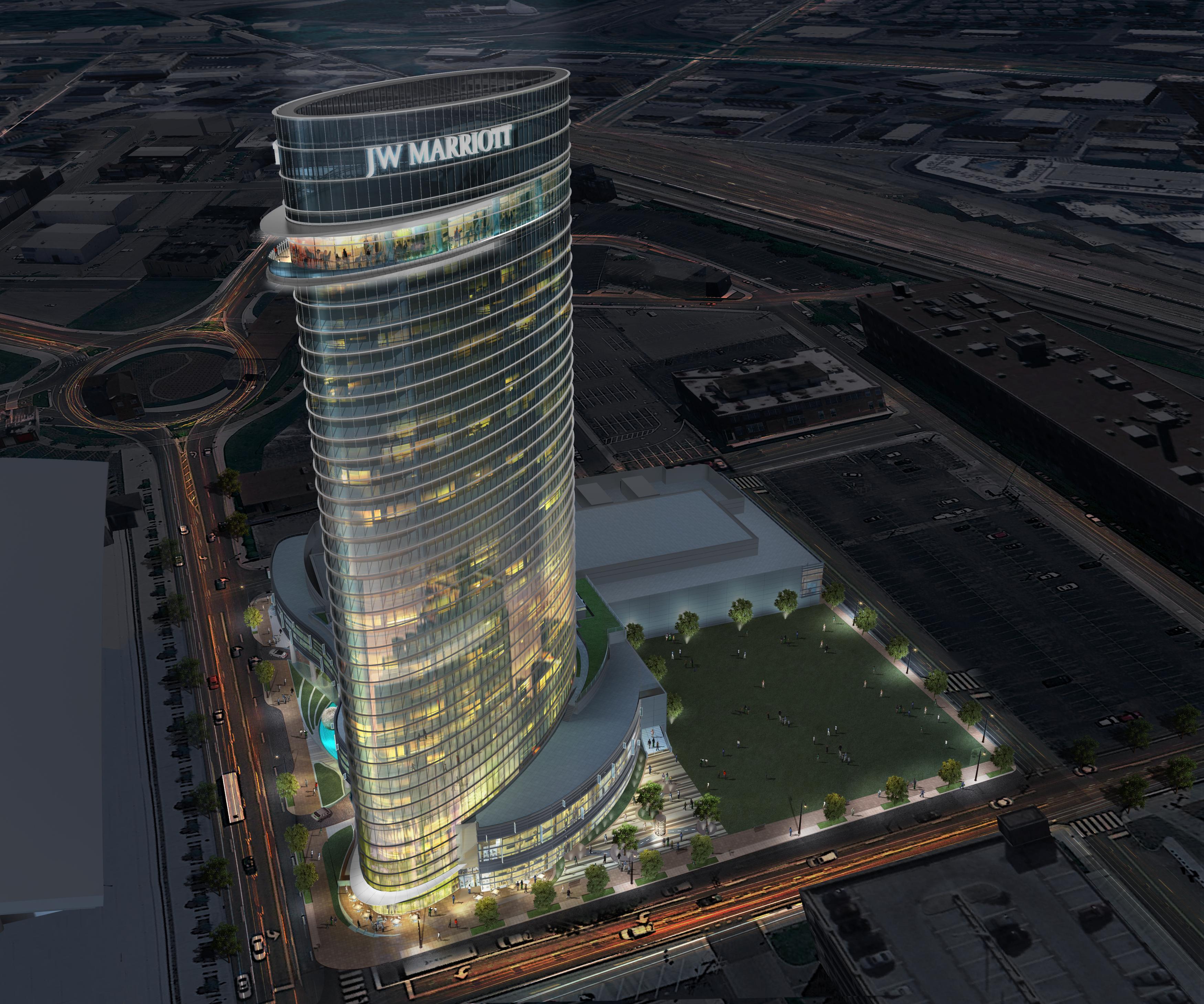 Turnberry Ociates Redefines Nashville Skyline With New Jw Marriott Hotel