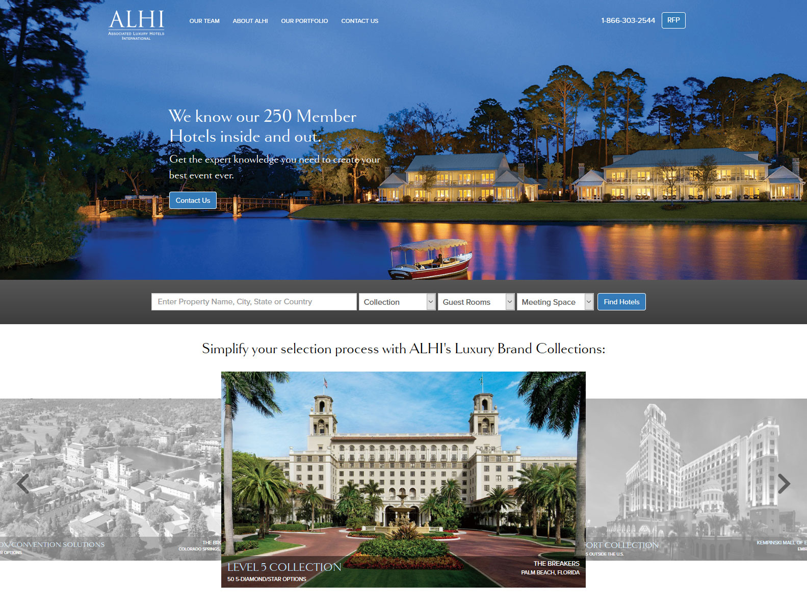Ociated Luxury Hotels International Alhi Launches All New Website With Many Features