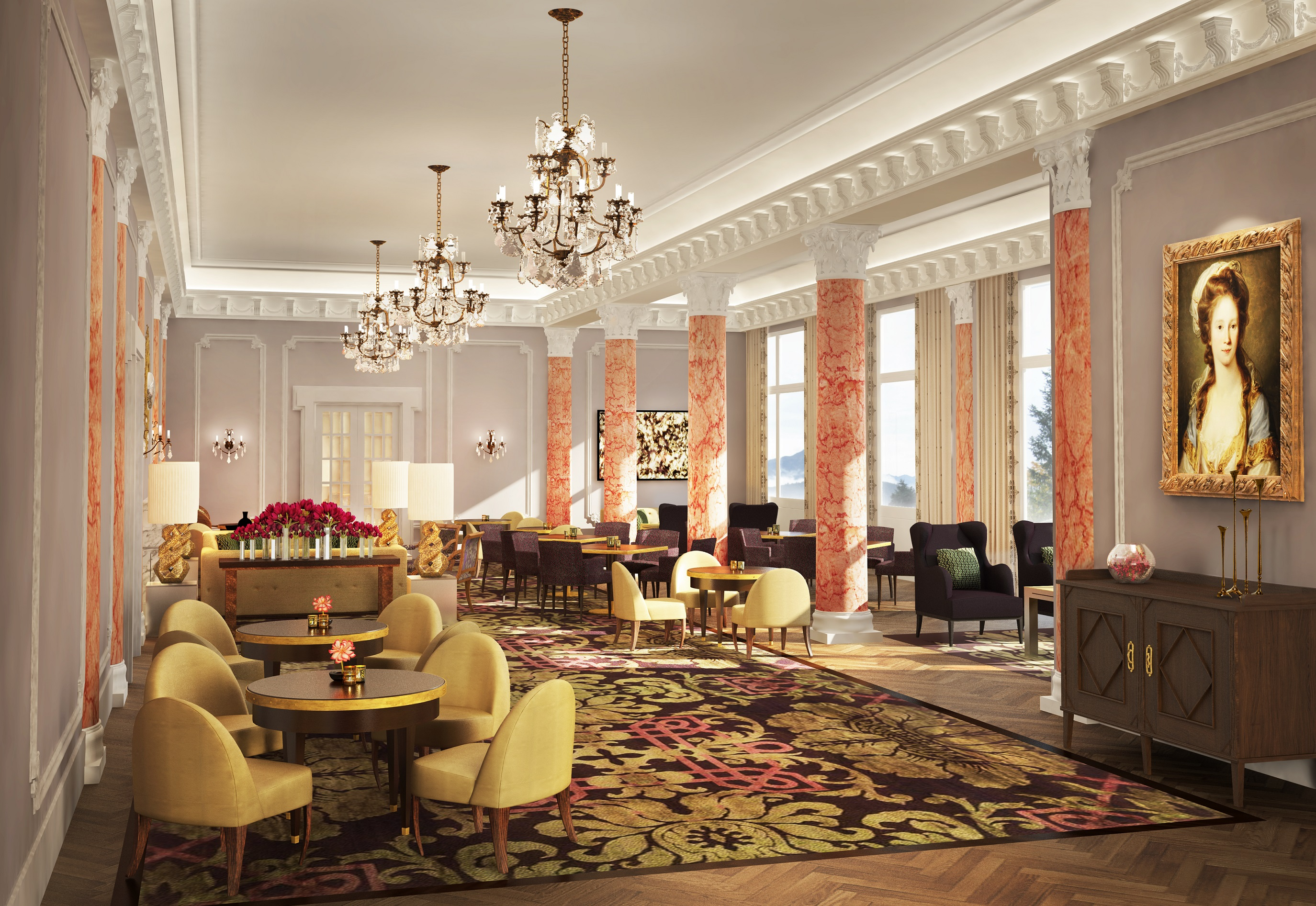 Palace Hotel To Open In June At Bürgenstock Resort