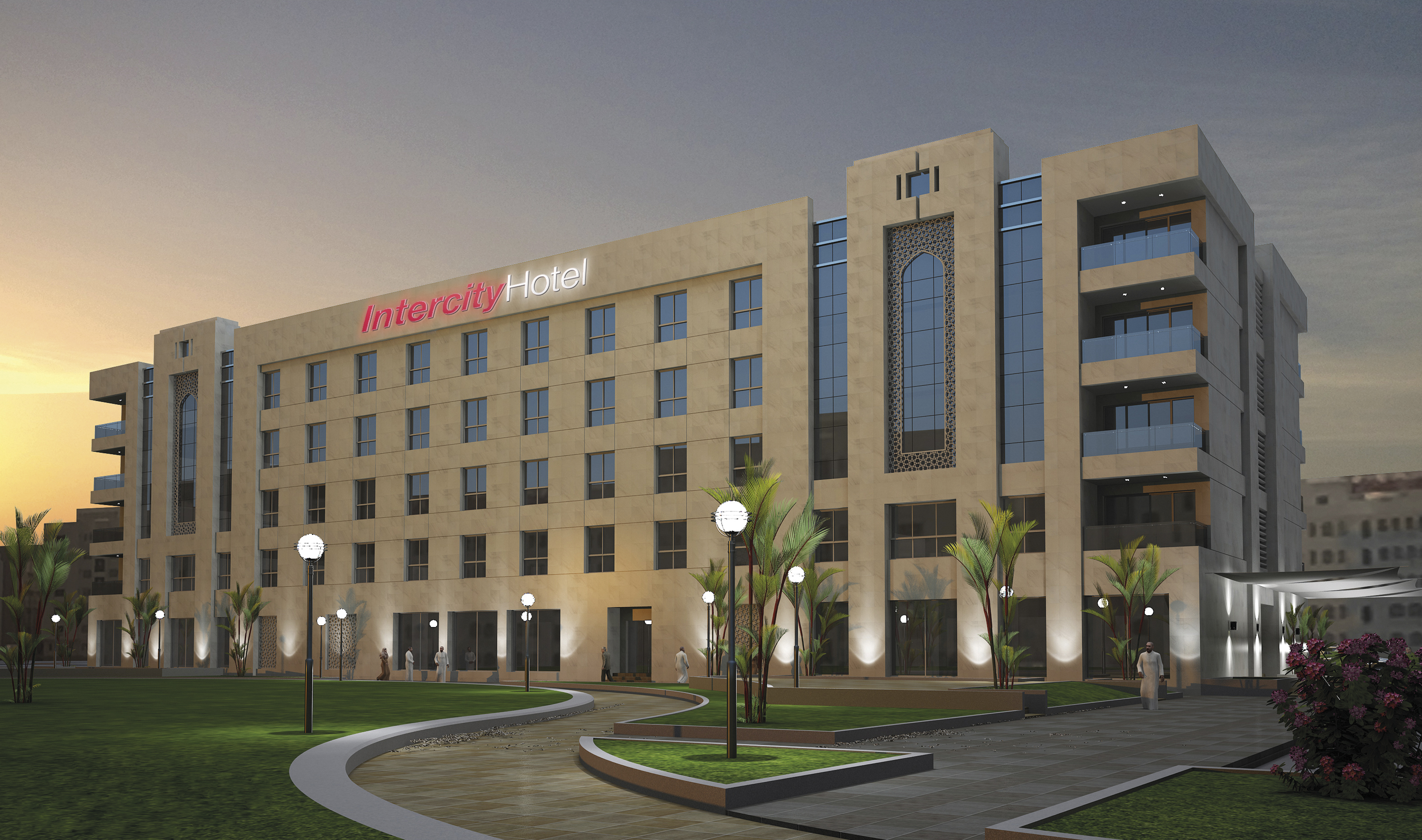 Deutsche hospitality signs agreement for an intercityhotel for Designhotel oman