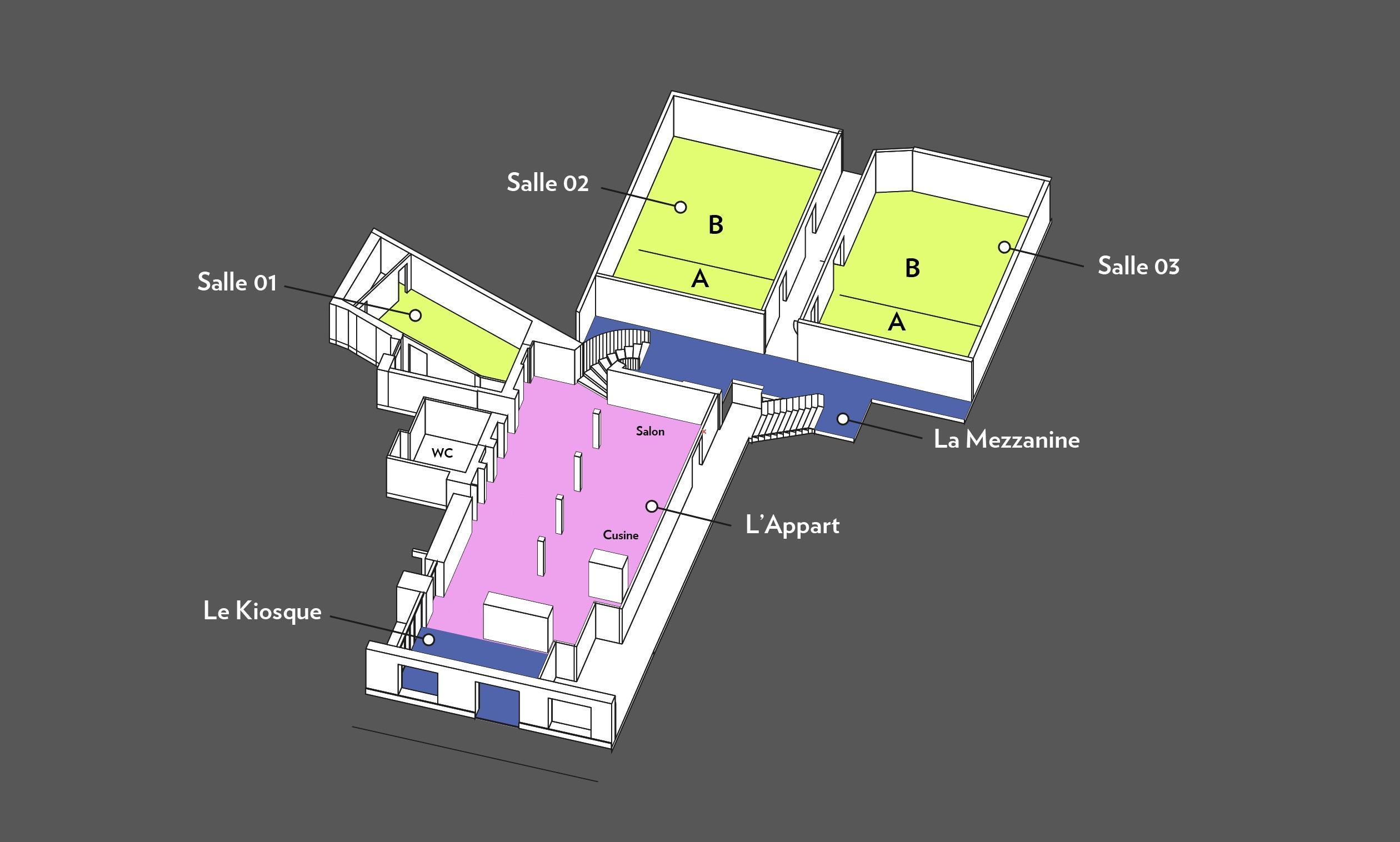 Event space concept in Paris (work in progress by Creative Supply); Hotel ... & Hotel Concept ≠ Interior Design | By Youri Sawerschel \u2013 Hospitality Net