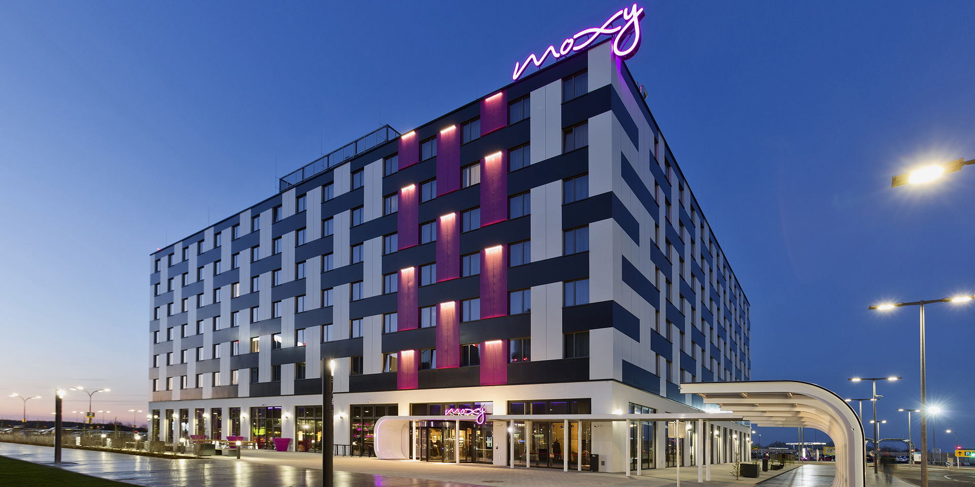 moxy hotels marriott international s bold experiental hotel brand debuts in austria s vibrant. Black Bedroom Furniture Sets. Home Design Ideas