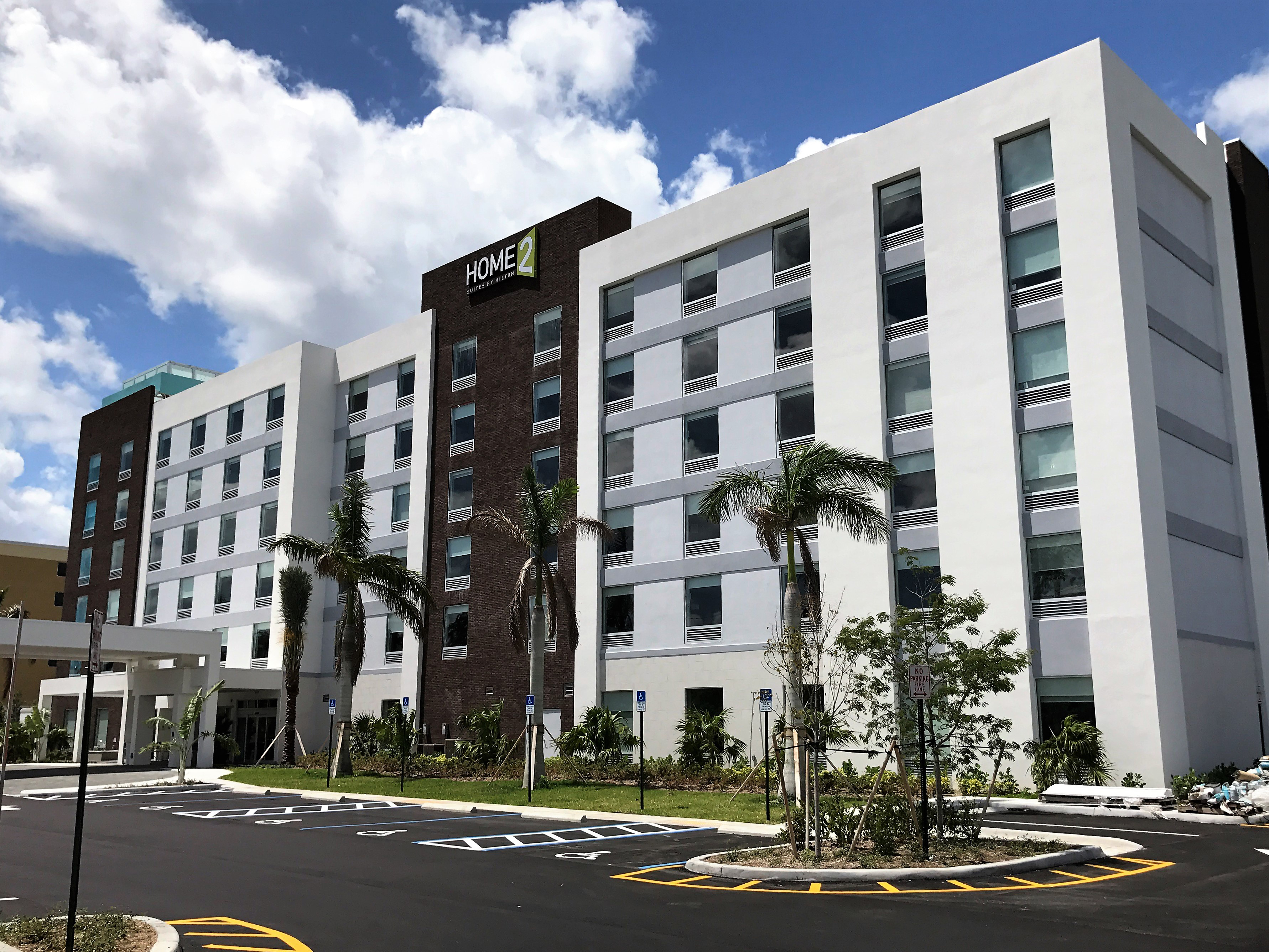 Home2 Suites By Hilton Ft Lauderdale Airport Cruise Port Opens Newest Hotel In Dania Beach